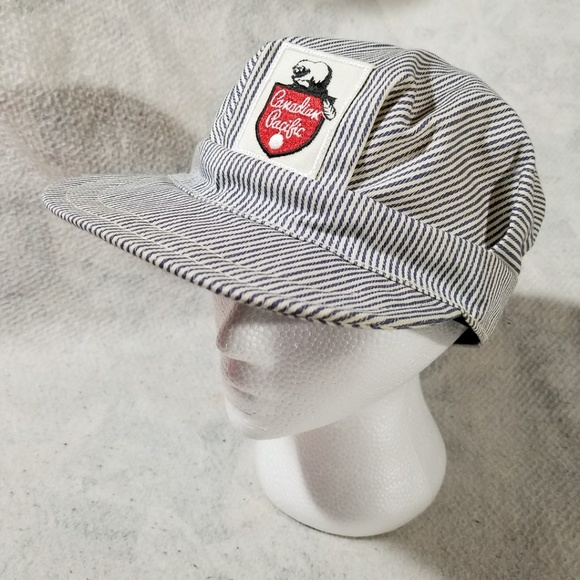 VINTAGE Canadian Pacific Union Made in Canada Cap.  M 5bf46385aa87701da3ff5a56 0251f8857dc